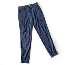 Trouser Side Slim Fit Bottoms Men's Joggers Pants